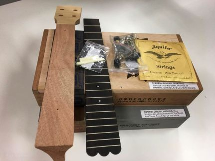 cigarbox and neck